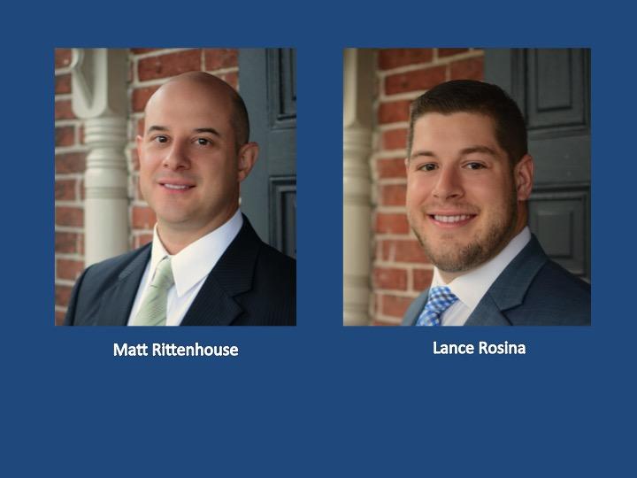 BWP welcomes Matt Rittenhouse, CFP® and Lance Rosina to the team.